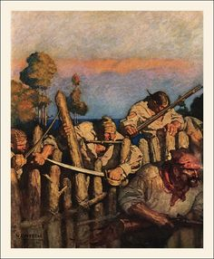 N.C. Wyeth - Treasure Island illustrations