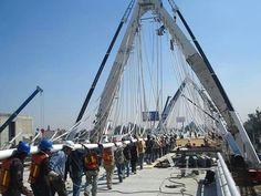 Construcción del Puente Matute Remus.