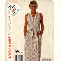 Long column dress pattern