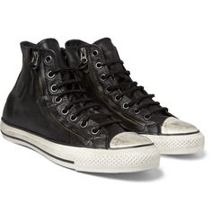 It's all in the details: Converse John Varvatos Double Zip Sneakers.