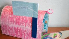 valentine mailbox from cereal boxes tutorial