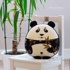 "Handmade Panda Pillow | Авторская подушка-игрушка ""Панда"""