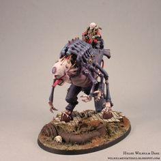 WilhelMiniatures: Genestealer Cult Beast