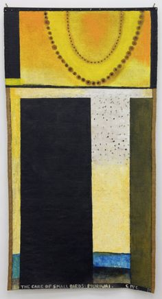 The care of small birds: Muriwai by Colin McCahon