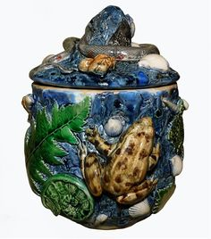 Ornamental Ceramic Work of Bernard Palissy (c. 1510 – c. 1589)