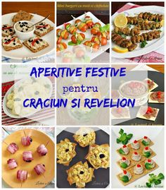 aperitive festive Romanian Food, Christmas Appetizers, Christmas Cooking, Food Gifts, Soul Food, Appetizer Recipes, Carne, Food To Make, Food And Drink