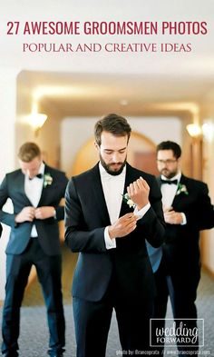 27 Awesome Groomsmen Photos You Can't Miss ❤ You already got a list of must have photos with your bridesmaids. It's only fair we gathered a similar gallery of awesome groomsmen photos you can't miss! See more:      http://www.weddingforward.com/groomsmen-photos/ # groom #groomsmen