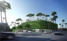 8600 Wilshire. Image Courtesy of MAD Architects