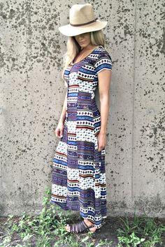 PAISLEY SANDSCAPE DRESS