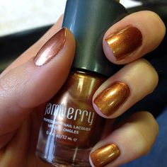 Copper Penny Jamberry Lacquer! #Jamberry #lacquer #nails