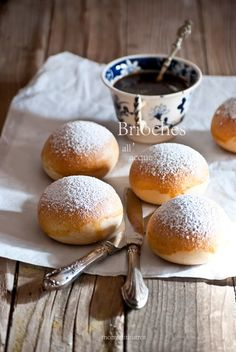Brioches all'acqua