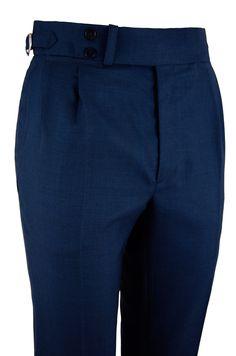 Pantalón P3 2P TA LA 120 - Azul tinta #pantalones #casual #hombre #trousers #men #gentleman #style #lopezaragon #spain #menswear #menstyle #handmade #wool #estiloespañol #bespoke #fattoamano #menwithclass #fashion #dapper