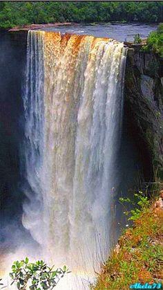 Kaieteur Falls, Guyana Kaieteur Falls is the world's widest single drop…