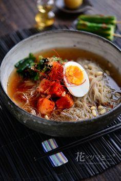 韓国冷麺 - Korean cold Noodle.