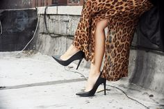 Glamgerous - Fashion Blogger: Win My Dress: Dee Elle Clothing Giveaway  #details #heels #leopard #look #outfit #fashion #glamgerous