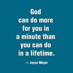 God is powerful.