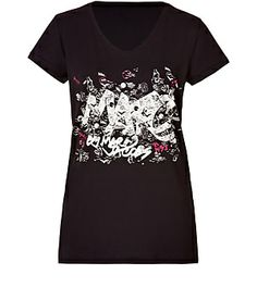 Kick up the cool of casual looks with Marc by Marc Jacobs' graffiti logo tee #Stylebop