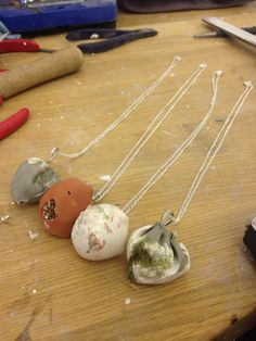 Cement Pendants