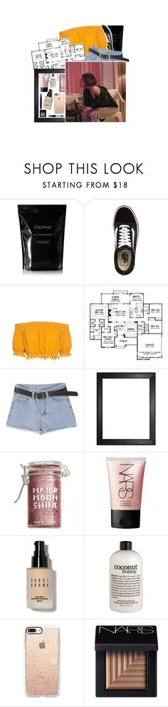 """""""HEARTLESS"""" by halloween-town ❤ liked on Polyvore featuring Cleanse by Lauren Napier, Vans, Apiece Apart, Major Moonshine, NARS Cosmetics, Bobbi Brown Cosmetics, philosophy, Casetify and MAKE UP FOR EVER"""