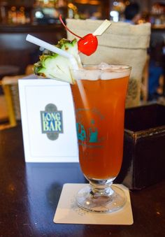 Singapore Sling - Long Bar, Raffles Hotel: Yes, it's wildly overpriced but still a must do when visiting Singapore!