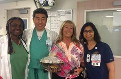 My surgeon and my nurse, both such amazing caregivers Spondylolisthesis, Spinal Stenosis, Caregiver, Chronic Pain, Sari, Amazing, Saree, Saris, Sari Dress