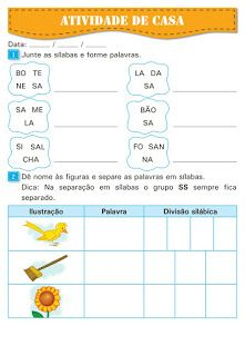 Atividades Escolares: Tarefa de casa Thing 1, Dena, Professor, School, Activity Books, Kids Activity Ideas, Animal Activities, Reading Activities, Index Cards