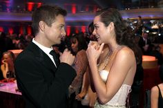 Jeremy Renner and Marion Cotiliard