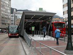 Bogota Transmilenio Rapid Transit, Transportation, Street View, Socialism, Colombia