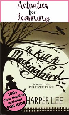 40 best literature images on pinterest in 2018 more than 100 activities and writing prompts for close reading of to kill a mockingbird in fandeluxe Gallery