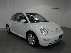 2002 VW New Beetle Luna Green!