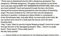 weeping angels inspiration