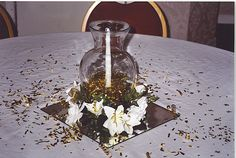 50th Wedding Table Decorations | Need some ideas for a wedding or anniversary