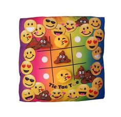 Already have an autograph pillow on your bed? Check out this tic tac toe pillow! Perfect for #Camp #SlumberParties #RoadTrips and more!