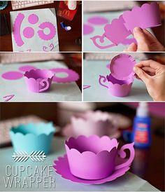 cupcake wrapper #cuttingplotter http://www.vevor.com/cutting-plotter.html