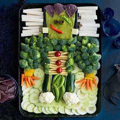 FrankenGuac with Veggies