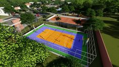 Urban Design, Basketball Court, Project Management