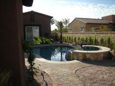 Backyard Desert Landscaping Pool