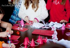American Girl doll birthday party - craft ideas with links included!