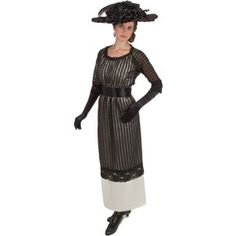 Find Edwardian clothing for all occasions can be found at Recollections. Get started building your wardrobe today! Edwardian Dress, Edwardian Fashion, Edwardian Clothing, Edwardian Style, Vintage Clothing, Vintage Gowns, Vintage Outfits, Vintage Hats, Day Dresses