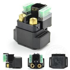 Motorcycle Starter Relay Solenoid ATV For OEM Yamaha YFM 550 700 Grizzly 4x4 New #ETWAS