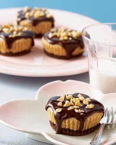 Mini Peanut Butter Cheesecakes