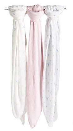 Aden & Anais swaddling cloths - a must have for baby - on sale for under $10 each!