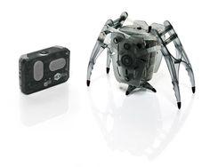 Microrobotul Hexbug Inchworm este o micuta minunatie electromecanica. Utilizatorul controleaza directia de deplasare cu ajutorul unei telecomenzi IR miniaturale. Fiecare telecomanda functioneaza pe 2 benzi de frecventa, astfel incat 2 microroboti sa poata fi manevrati independent (fiecare de la telecomanda lui) sau simultan (cu aceeasi telecomanda). Modul de deplasare al robotelului e fascinant de urmarit si controlat.  Disponibil in 5 culori: rosu, verde, albastru, portocaliu, negru.