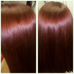 #red #color #hairstyle #hair