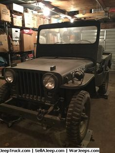 Used Jeeps and Jeep Parts For Sale - 1951 M38 Full Military Jeep