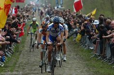 Boonen on the Arenberg Trench.  I've seen the race here twice.