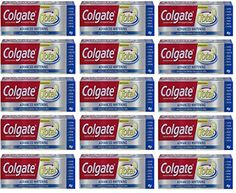 Teeth Whitening Kit | PACK OF 15 TUBES 120oz TOTAL Colgate Total ADVANCED WHITENING Toothpaste Whitens Teeth  Removes Surface Stains with Advanced Whitening Ingredients Pack of 15 Tubes 80oz each Tube -- Details can be found by clicking on the image.(It is Amazon affiliate link) #followbackteam Best Makeup Brushes, Makeup Brush Set, Best Makeup Products, Makeup Kit Essentials, Best Foundation Makeup, Best Teeth Whitening Kit, Cat Eye Makeup, Tube, Surface