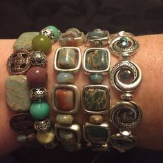 Host Pic 6/3/16 Semi precious beaded bracelets *NEW* Semi precious beaded bracelets each $25 Jewelry Bracelets