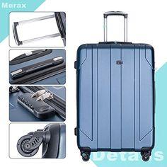 Amazon.com | Merax 3 Piece P.E.T Luggage Set Eco-friendly Light Weight Spinner Suitcase | Luggage Sets Best Luggage, Luggage Sets, Spinner Suitcase, Business Travel, 3 Piece, Eco Friendly, Amazon, Pets, Amazons