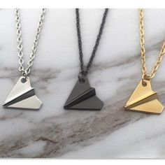 One Direction Plane Necklaces with FREE Shipping  #choker #1d #oned #onedirection #1direction #harrystyles #oopshi #necklace #fashion